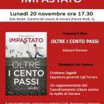 """""""Oltre i cento passi"""": Giovanni Impastato presenta il suo libro alla Cgil di Ferrara"""