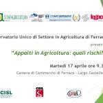 Appalti in agricoltura: quali rischi?