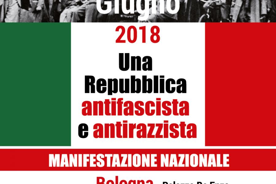 2 giugno 2018: una Repubblica antifascista e antirazzista