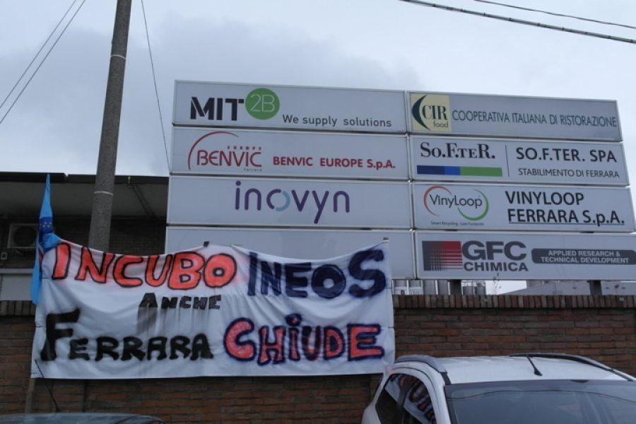 Ancora in sciopero i lavoratori turnisti della Vinyloop