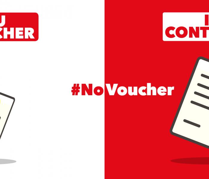 Firma la petizione #NOvoucher