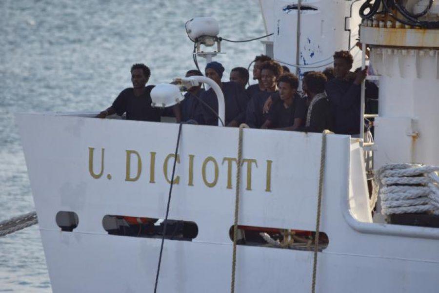 Nave Diciotti: comunicato della Cgil di Ferrara