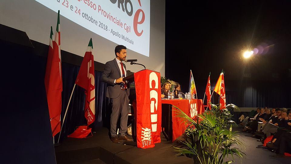 Congresso Provinciale Cgil Ferrara: al via i lavori alla Multisala Apollo