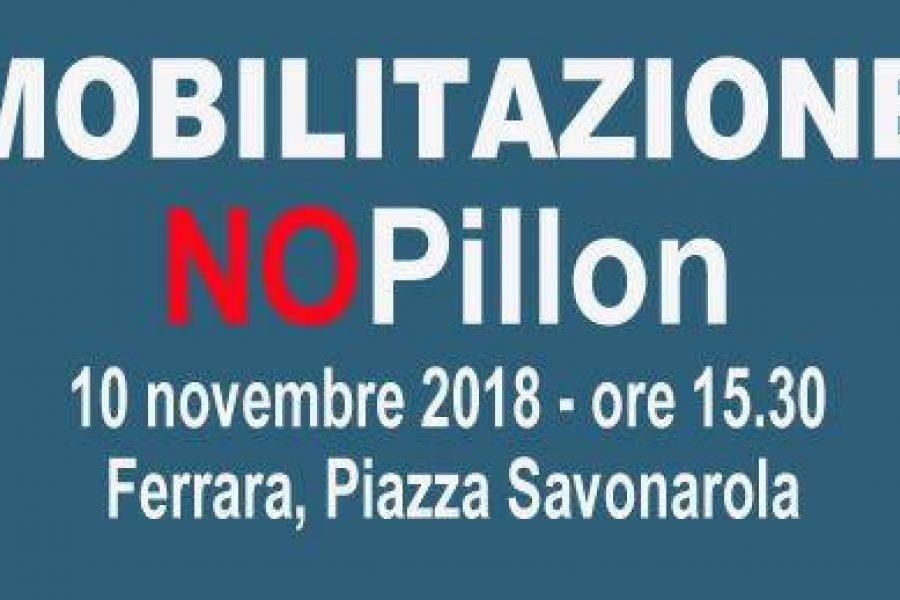 Mobilitazione contro DDL Pillon: Ferrara sabato 10 novembre Piazza Savonarola