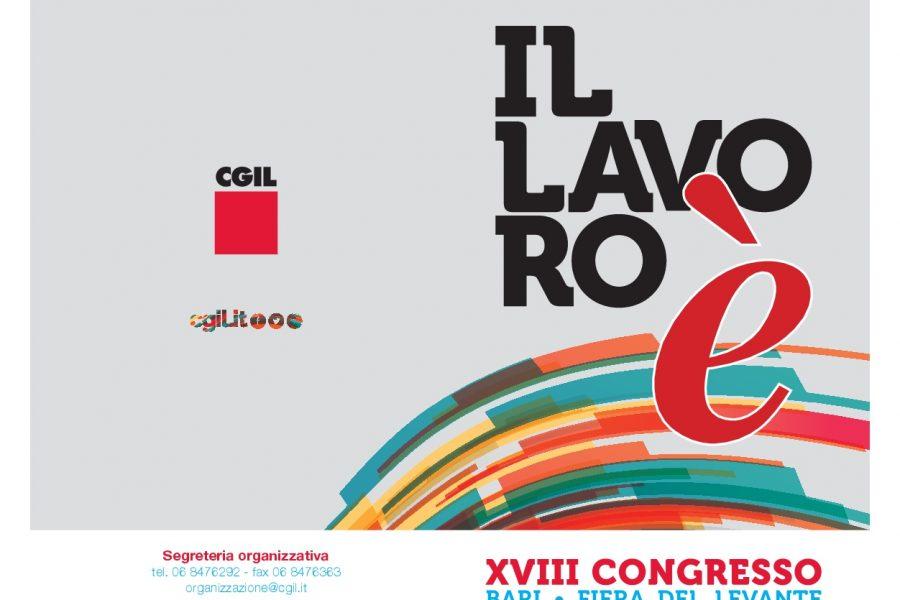 Il Congresso nazionale della Cgil a Bari dal 22 al 25 gennaio