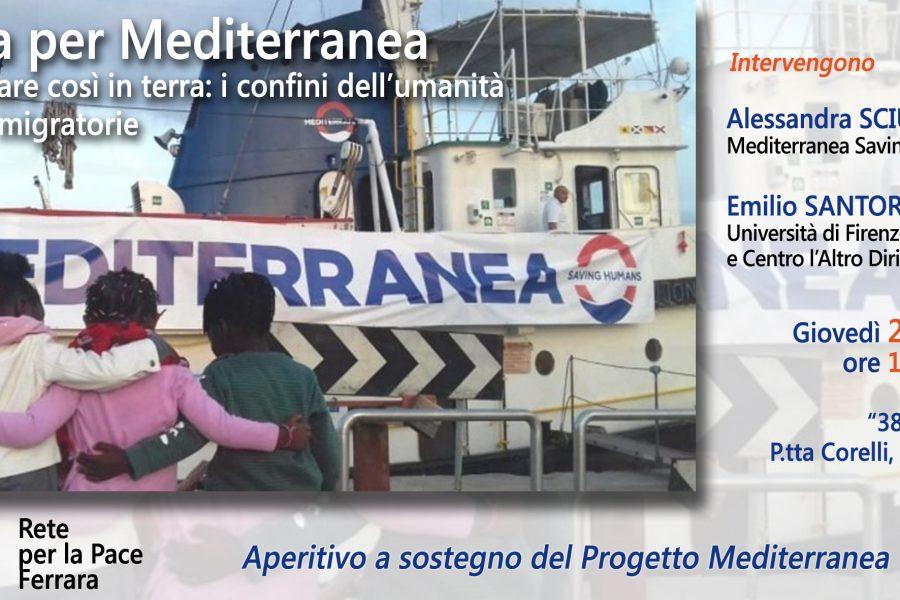 Ferrara per Mediterranea: giovedì 21 marzo alle ore 18.30