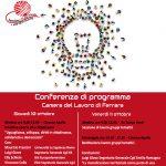 Facciamoci strada: conferenza di programma Cgil Ferrara