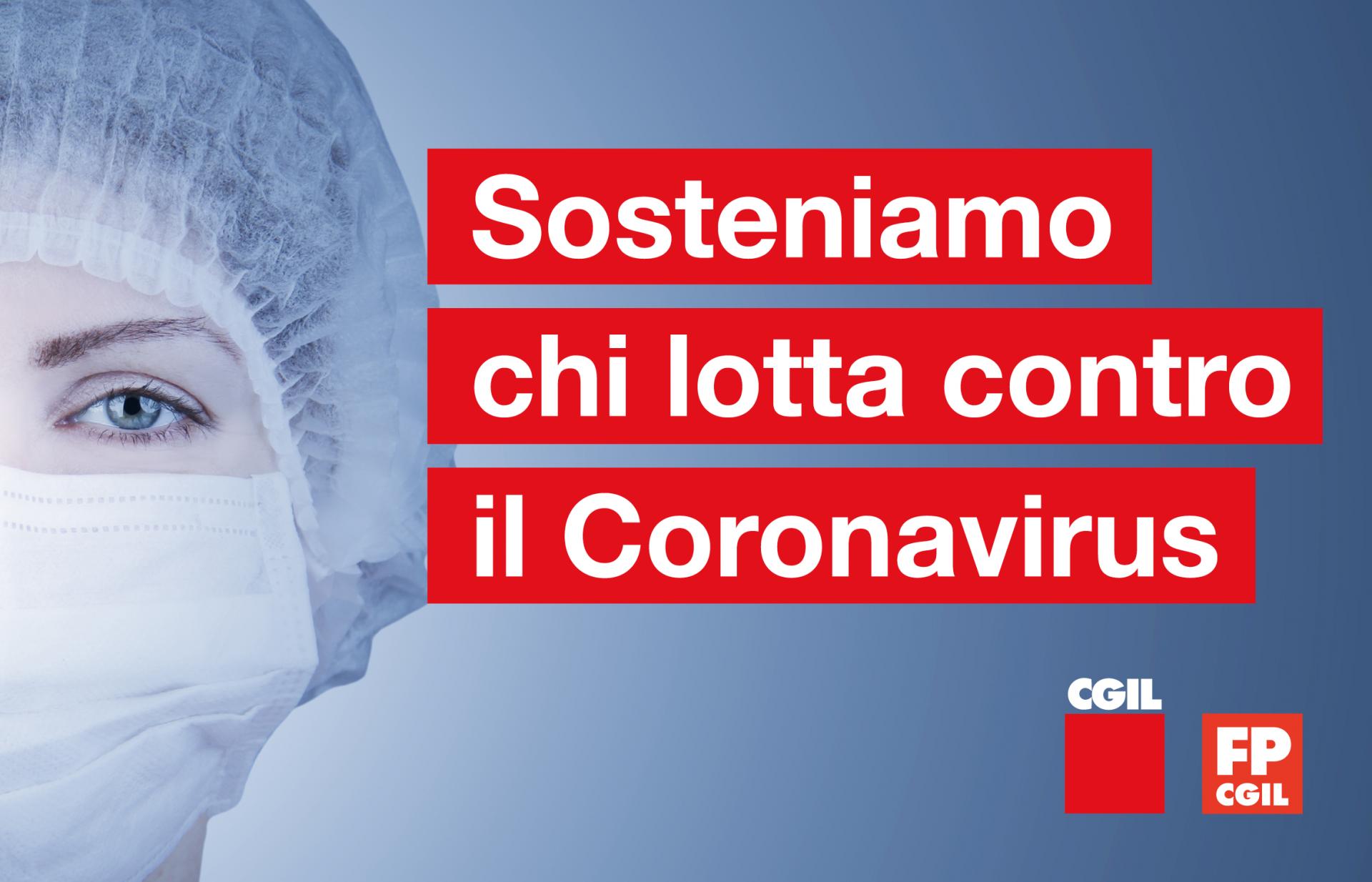 Sosteniamo chi lotta contro il Coronavirus