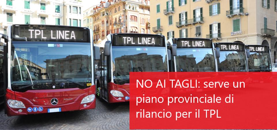 No ai tagli: serve un piano di rilancio provinciale per il trasporto pubblico locale