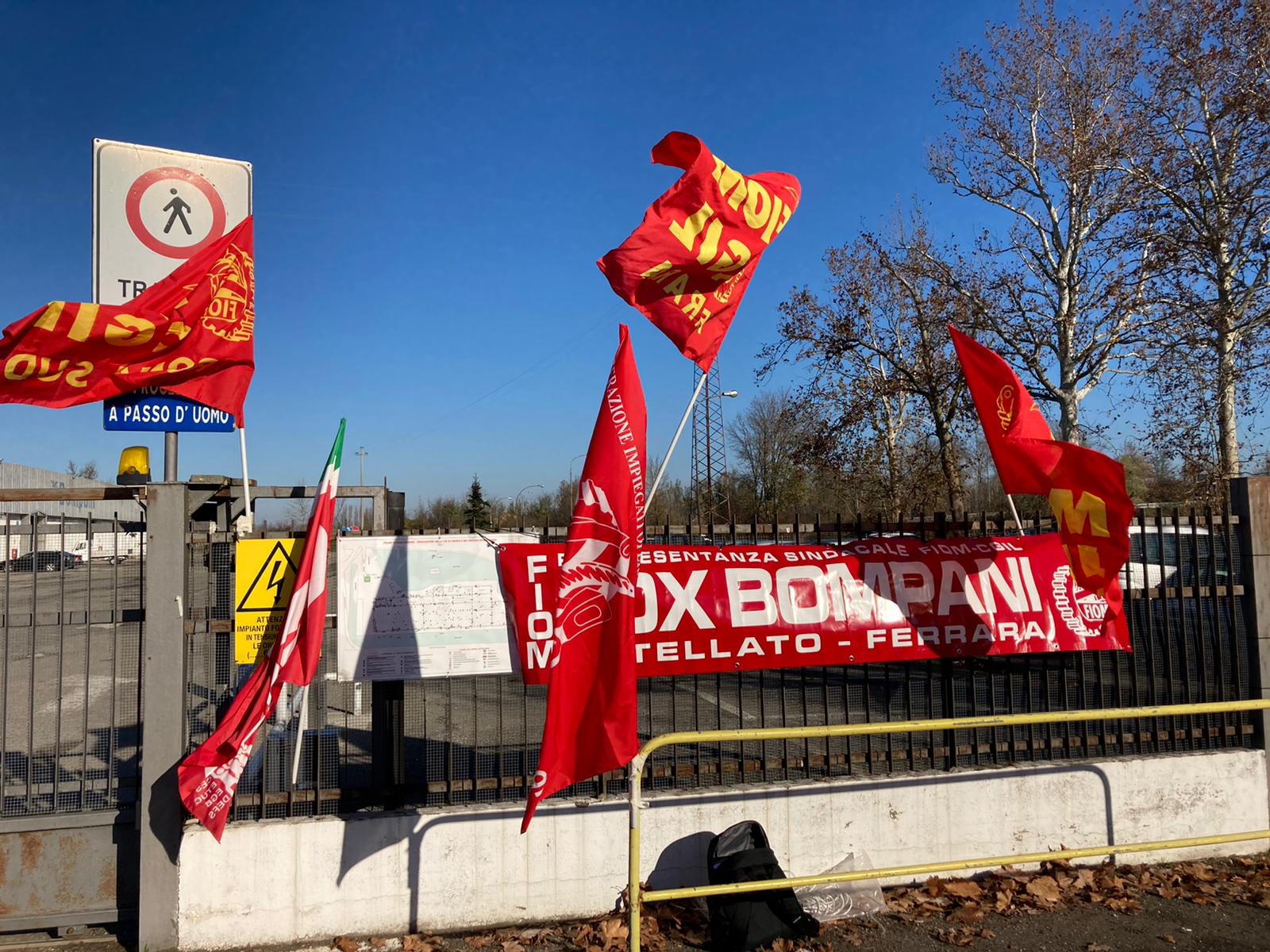 Prosegue lo sciopero in Fox Bompani