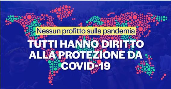 Nessun profitto sulla pandemia. Sabato 29 maggio raccolta firme a Ferrara
