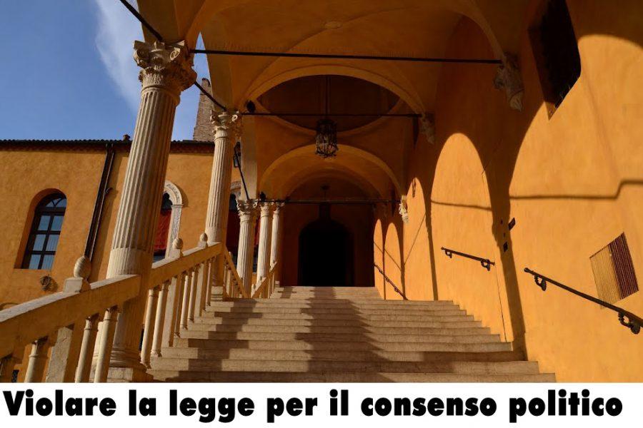 Le parole del Sindaco di Ferrara sono quelle di un pioniere della politica della divisione