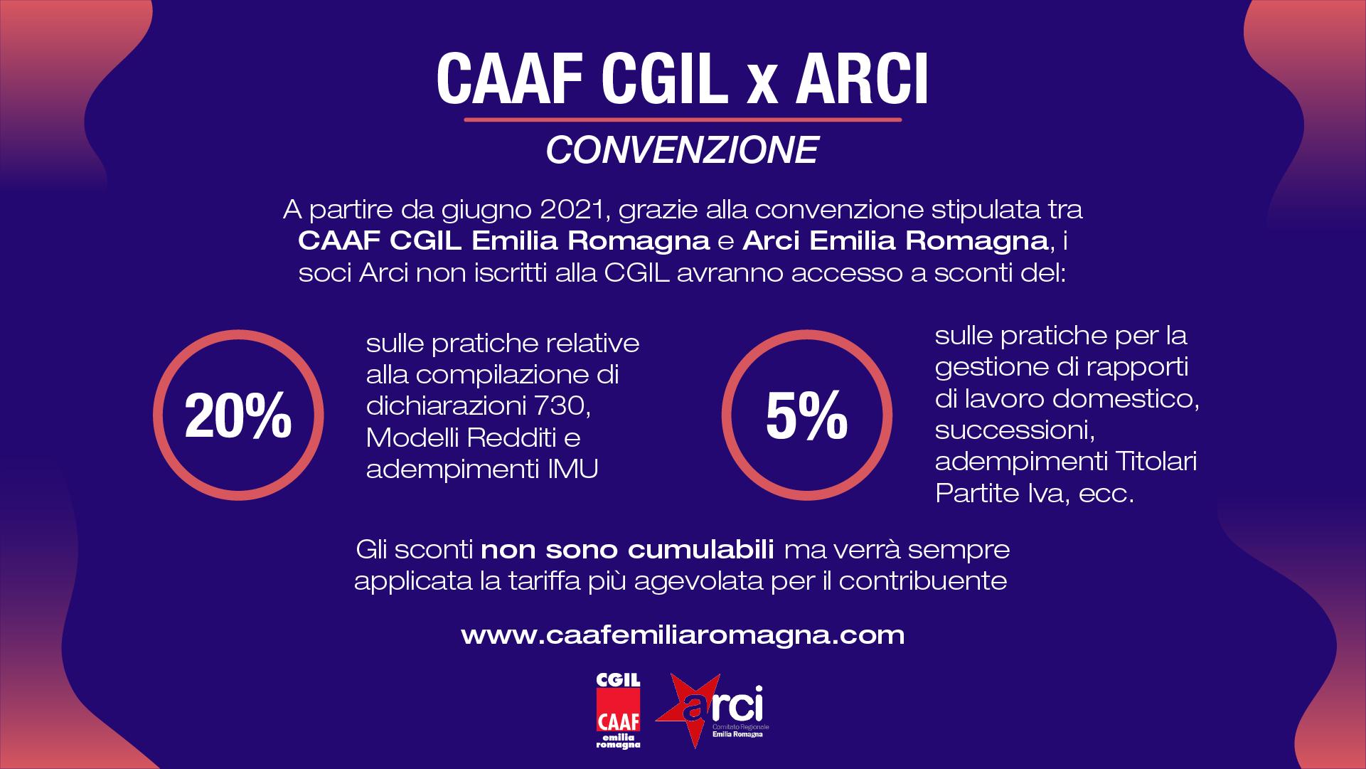 Convenzione Caaf CGIL x ARCI