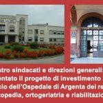 Ospedale di Argenta: incontro tra sindacati e direzioni generali